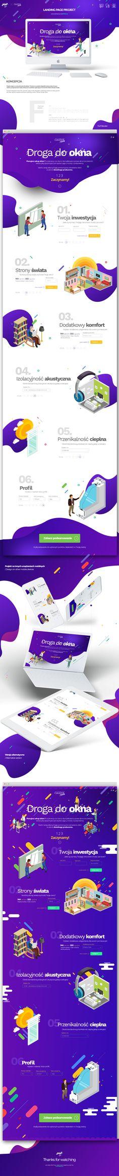 Echa un vistazo a este proyecto @Behance: \u201cLanding page project design\u201d https://www.behance.net/gallery/54709269/Landing-page-project-design
