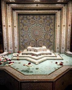 Home Design Inspiration Moroccan Tile Pool Fountain Hot Tub Tile Design