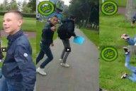 Volstrekte idioot slaat meisje in elkaar en zet het online