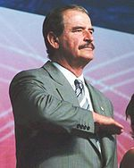 Vicente Fox Quesada - Vicente Fox Quesada is a Mexican former politician who served as President of Mexico from 1 December 2000 to 30 November 2006 and currently serves as co-President of the Centrist Democrat International, an international organization of Christian democratic political parties.  Fox was elected President of Mexico in the 2000 presidential election, a historically significant election that made him the first president elected from an opposition party since Francisco I…