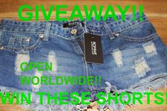 MyStyleSpot: GIVEAWAY: Win Some Distressed Denim Shorts OPEN WORLDWIDE! click to enter! Ends nov 13, 2014  #win #contest #sweepstakes #giveaway #fashion #distressed #denim #jeans #shorts #style #mystylespot #blog #blogger #clothing #clothes #women #youth #girls #teens