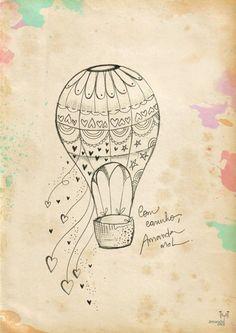 Ilustração Tatuagem   Composta - Amanda Mol   Loja