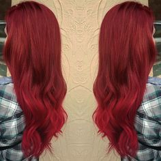 Seriously can't get over my red hair❤️