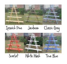 Wooden Ladder Shelf  Craft Fair Display  5 foot Ladder Shelf