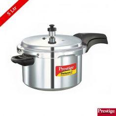Prestige Deluxe Plus Aluminium Pressure Cooker 5 Ltr
