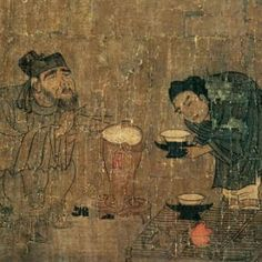Xiaoyi Swindling for the Lanting Scroll 蕭翼賺蘭亭圖