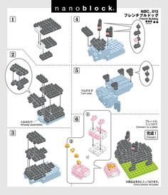 Nanoblock instructions NBC_