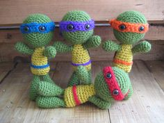 Teenage Mutant Ninja Turtles-Crochet ~ free pattern