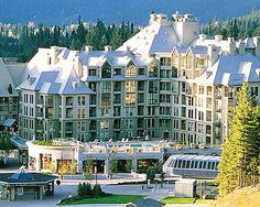 Whistler, BC, Canada. Most beautiful winter ski village i've ever seen. Definietly a must visit.