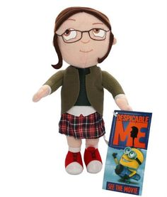 despicable me 2 toys | Despicable Me 3D Movie Agnes Edith Margo Stuffed Plush Toys Set of 3 ...
