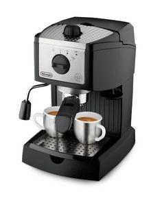 De'Longhi EC155 15 BAR Pump Espresso and Cappuccino Maker: http://www.amazon.com/DeLonghi-EC155-Espresso-Cappuccino-Maker/dp/B000F49XXG/?tag=httpbetteraff-20