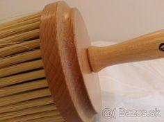 Maliarská štetka (šajbovec) okrúhla drevená rúčka, nová - 1