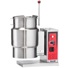 Vulcan K12ETT-7 12 Gallon Tilting Electric Steam Jacketed Kettle - 12 kW, 208V
