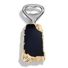 RabLabs Heritage Obsidion Gold Bottle Opener #zincdoor