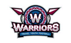 Warriors Youth Football by Matt Walker Sports Decals, Sports Art, Youth Football, Football Team, Warrior Logo, Sports Team Logos, Sports Graphics, Swim Team, Logo Sticker