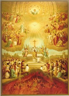 November 2 All Souls' Day: From The Liturgical Year of Dom Prosper Gueranger. We will not hav. Catholic Prayers, Catholic Art, Catholic Saints, Religious Art, Roman Catholic, Catholic Sacraments, Religious Pictures, Jesus Pictures, Vintage Holy Cards