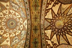 Roof of persia series. Taken at Finn Garden, Kashan in Iran.