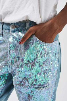 Sequin Jeans