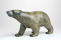 Inuit Sculpture: Walking Bear