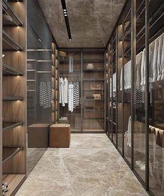 Modern Closet Mega Mansions Walking Wardrobe Ideas Small Walk In