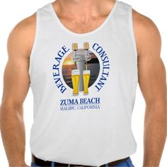 Beverage Consultant 2 (Zuma Beach) Tanks Tank Tops