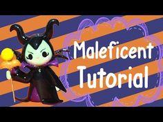 *Maleficent Tutorial*  (villians series) polymer clay tutorial