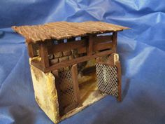 gallinero Nativity Crafts, Quilling, Medieval, Projects To Try, Furniture, Home Decor, Paper Houses, Chicken Coops, Birdhouses