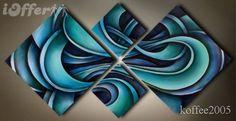 Modern Abstract Canvas Oil Painting Wall Art EG4-001