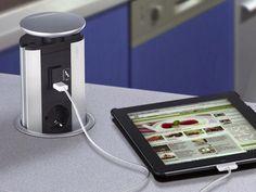 EVOline Port USB Versenkbare Steckdose   Nordsee-Küchen