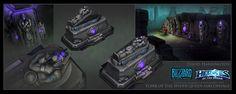 ArtStation - Heroes Of The Storm - Tomb Of The Spider Queen Sarcophagi Textured, David Harrington