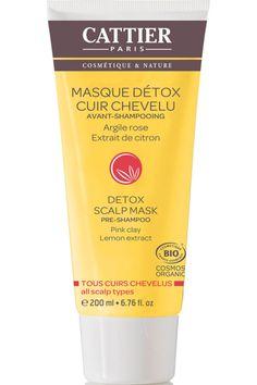 Cattier - Masque Detox Cuir Chevelu – Avant Shampooing - Masque Detox Cuir Chevelu – Avant Shampooing