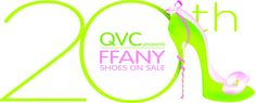@QVC Presents '#FFANY #Shoes On #Sale' 20th Anniversary logo! The gala is less than a week away, followed by the live broadcast on #QVC Oct. 10th from 6-9pm EST! http://qvc.co/FFANY-ShoesonSale
