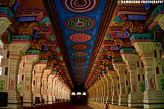Rameshwaram Temple in Tamil Nadu. The four pilgrimages of Badrinath (Uttarakhand), Dwarka (Gujarat), Puri (Odisha) and Rameswaram on Panbam Island (Tamil Nadu) are dedicated to Lord Vishnu and are called Chaar Dhaam. They are placed at the four cardinal points of the Indian subcontinent.