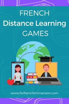 French Distance Learning Games - For French Immersion
