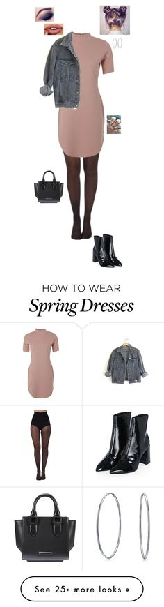 """""""4.10.16"""" by jesshorne2016 on Polyvore featuring Pretty Polly, Topshop, GUESS, Kendall + Kylie and Bling Jewelry"""