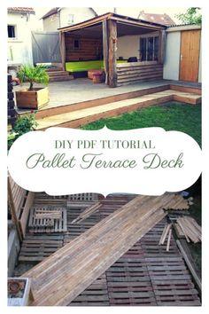 Pallet Terrace Deck