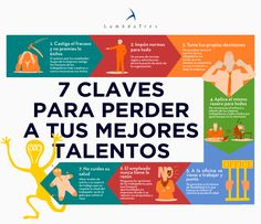 7 trucos para perder talento