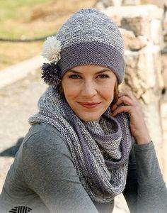 комплект шарф шапка