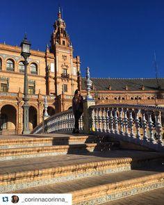 #Repost @_corinnacorinna_ Hey Sevilla  #studyabroad #ispyapi
