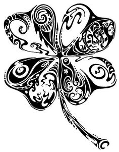Clover Tattoo Drawing