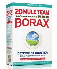 Is Borax safe? Borax is used as a natural laundry booster, multipurpose cleaner, fungicide, preservative, insecticide and disinfectant. Cleaning Solutions, Cleaning Hacks, Cleaning Recipes, Borax Cleaning, Cleaning Supplies, Cleaning Agent, Bathroom Cleaning, Borax Laundry, Laundry Tips