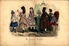 Childrens dress, 1870 Late Victorian (1860-1900) | Big Fashion Show childrens dresses