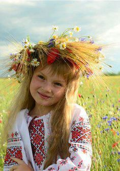 🌻🇺🇦🌻Little Ukrainian beauty. Kids Around The World, We Are The World, Small World, People Around The World, Around The Worlds, Little Children, Precious Children, Beautiful Children, Little Girls