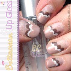 Caf Au Lait Clouds #nails #nailart #nailpolish #manicure #neutrals beauty-inspiration