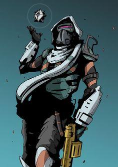 Hunter is faaaaabulous Destiny - Hunter by DarkMechanic