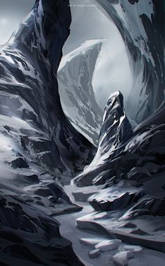 [frozen river by sheer-madness]