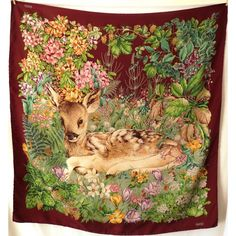 Gucci vintage rare collector soie silk made in Italy gucci tuch gucci  sciarpa gucci silk scarf 6d4f317994f