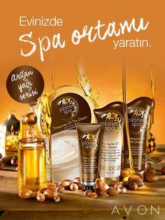 Argan yağı içeren Avon Planet Spa ile yoğun nemlenme, derinlemesine yenilenme hissini yaşayın!