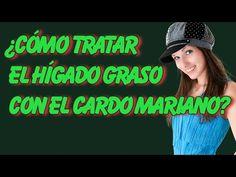 Cómo Tratar El Hígado Graso Con El Cardo Mariano - YouTube