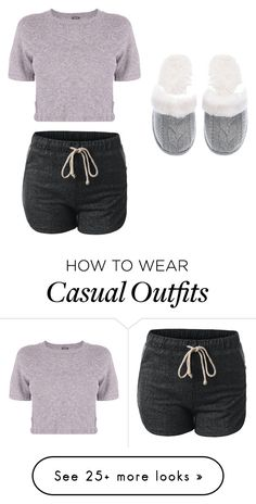 """Casual"" by livbp on Polyvore featuring Monrow, Victoria's Secret, women's clothing, women's fashion, women, female, woman, misses and juniors"